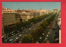 459 Francia, France, PARIS,  L'Avenue Des Champs Elysées, ARC De TRIOMPHE , Triumphal Arch - France