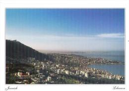 Carte Postale LIBAN Jounieh  - Postcard Jounieh View LEBANON - Libano