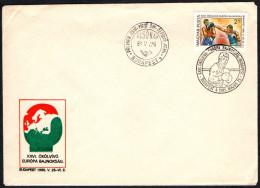 HUNGARY BUDAPEST 1985 - XXVI EUROPEAN AMATEUR BOXING CHAMPIONSHIPS - FDC - Boxing