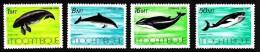 Mozambique MNH Scott #995-#995 Set Of 4 Marine Mammals: Dugon, Dolphin, Whales - Mozambique