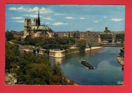 472 Francia, France, PARIS, Notre Dame Et Jardins De L'Archeveche - Frankrijk