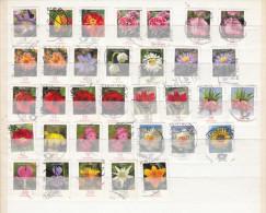 BRD Deutschland Blumen Flower Fleur - Oblitérés
