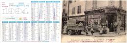 """CALENDRIER 1995  FORMAT A4    DREUX  EPICERIE DE CHOIX  Maison A. Vincent Grande Rue """"Classeur"""" - Calendriers"""