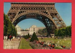 492 Francia, France, Paris - Perspective De Chaillot à Travers Les Arches De La Tour Eiffel - Frankrijk
