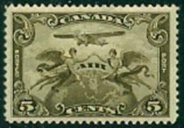 """-Canada- 1928-""""Airmail"""" MH (*) - Poste Aérienne"""
