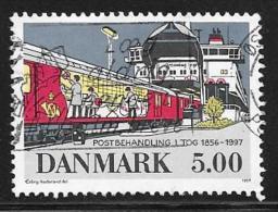 Denmark, Scott # 1077 Used Railway Mail Service, 1997 - Denmark