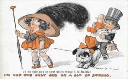 Illustration Fred Spurgin: Je Ne Suis Pas Le Seul Qu'on Mène à La Ficelle! - I'm Not Only One On A Bit Of String - Spurgin, Fred