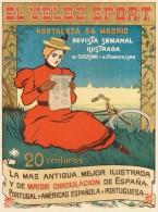 @@@ MAGNET - EL VELOZ SPORT. Circa 1900 - Publicitaires