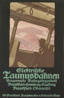 @@@ MAGNET - ELEKTRISCHE TAUNUSBAHNEN. Circa 1910. - Publicitaires