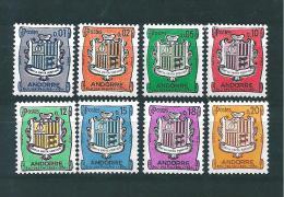Andorre  Francais  De 1961/71  N°153A A 157  Neuf * Charnière - Andorre Français
