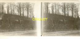 Guerre 14-18, Photo Stéréo Originale D'un Poilu, Offemont Février 1916, N° 3 - Stereoscopio