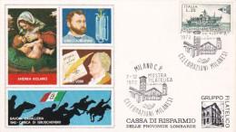 Italy 1972 Mostra Filatelica, Milano Souvenir Card N 23 - Unclassified