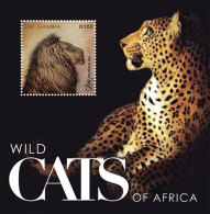 GAMBIA ; SCOTT # 3424 ; IGPC1230 S ; MINT N.H STAMPS ( WILD CATS ; LION - Gambia (1965-...)