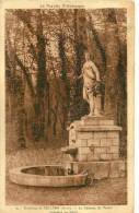 Serigny. Le Chateau Du Tettre, La Fontaine De Flore. - France