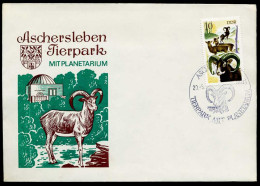 37395) DDR - Brief- SoST 432 ASCHERSLEBEN 1 Vom 20.05.1978 - Tierpark Mit Planetarium, Steinbock - [6] République Démocratique