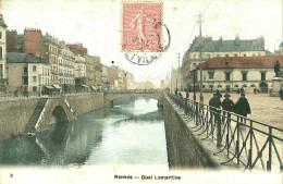 Rennes. Le Quai Lamartine . - Rennes