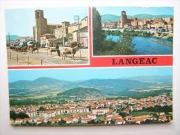 43 LANGEAC Marché Aux Bestiaux - Langeac
