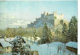 Salzburg (Salzburg, Austria) Im Winter, Panorama Invernale - Salzburg Stadt