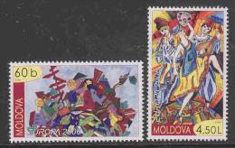 Europa Cept 2006 Moldova 2v ** Mnh (27273B) - 2006