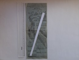 AFFICHE CINEMA: LA GUERRE 1914-1918 - Séance à ARGANCON (10) - L´Enfer De VERDUN - Petit Format - Manifesti