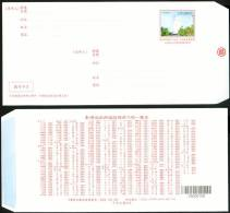 Taiwan 2010 Pre-stamp Domestic Ordinary Mail Cover Lighthouse Postal Stationary - 1945-... Republic Of China