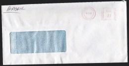 UK: Window Cover Hounslow 1985, Meter Cancel, By British Airways, See Backside (roughly Opened) - 1952-.... (Elizabeth II)