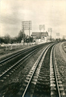 CPSM  SNCF VOIE MODERNE  BETON  ST GERMAIN VICHY - Equipment