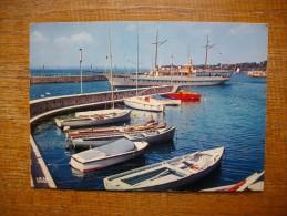 """Thonon-les-bains , Le Port Des Pêcheurs """" Carte Animée Le Bateau La Dranse """""""" - Thonon-les-Bains"""