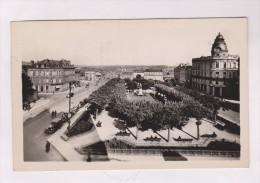 CPA PHOTO DPT 87 LIMOGES, SQUARE JOURDAN En 1940!!  (voir Timbre) - Limoges