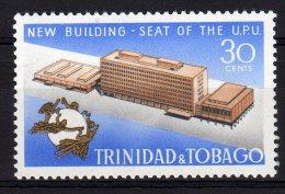 Trinidad & Tobago 1970 UPU New Building Stamp Mint - Trindad & Tobago (1962-...)