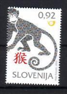 Slovenia 2016 Y Lunar Horoscope Year Of The Monkey MNH - Slovénie