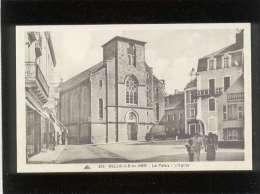56 Belle Ile En Mer Le Palais L'église édit. Cap N° 209 Magasins Hôtel Du Commerce , Musée Des Algues - Belle Ile En Mer