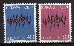 Helvetia Svizzera 1972 Europa CEPT Stamp Mint - Europa-CEPT