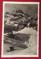 CORTINA D´AMPEZZO -1939 RIFUGIO ALTA VAL POPENA - ANNULLI : MISURINA BELLUNO E RIFUGIO ALTA VAL POPENA PROPR.COND. CONTI - Belluno