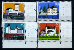 1977 - SVIZZERA - SCHEWEIZ - HELVETIA  - Mi. Nr. 1096/1099 - NH - (IBE1385000011) - Schweiz