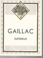 ETIQUETTE GAILLAC - TTBE - Etiquetas