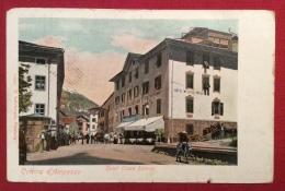 CORTINA D´AMPEZZO -1903  HOTEL CROCE BIANCA  -  ED.LEHRBURGER  NUMBERG  - TASSATA A MISURINA - Belluno