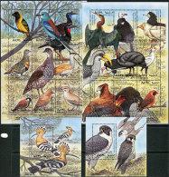 Eritrea 1998. Michel #168/85+Bl.#7/8 MNH/Luxe. Birds (B49) - Erythrée