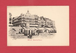 * CPA..BELGIQUE : HEYST :  Hôtel Du Phare : Voir Les 2 Scans - Heist