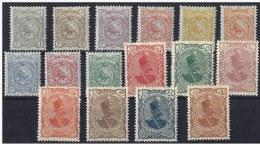 PERSIA IRAN 1899 Nº 104/119 * - Iran