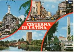 Lazio-latina-cisterna Di Latina Vedute Anni 70 - Altre Città