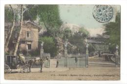 13909 - Paris Buttes Chaumont Entrée Principale - Arrondissement: 19