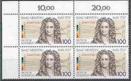 1993 ALLEMAGNE FEDERALE 1478** Newton, Bloc De 4 - [7] West-Duitsland