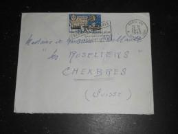 PARIS XVI RUE SINGER - FLAMME BIENNALE DE PARIS 1965 SUR YT 1451 UIT - Poststempel (Briefe)