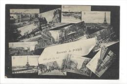 13912 - Souvenir De Paris XVe Arrt Multivues - Arrondissement: 15