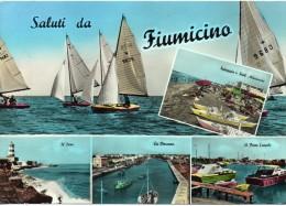 Lazio-fiumicino Vedute Saluti Da Fiumicino Anni 60 - Fiumicino