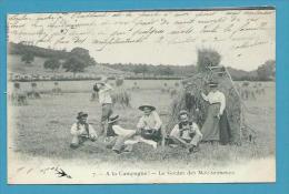 CPA 7 - Le Goûter Des Moissonneurs A LA CAMPAGNE - Cultures