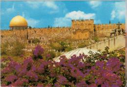 JERUSALEM   GOLDEN  GATE        (VIAGGIATA) - Palestina