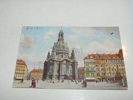 Dresden, Frauenkirche Und Neumarkt, Germany - Dresden