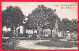OLEGGIO - NOVARA - GIARDINO PUBBLICO PIAZZALE STAZIONE - Italien
